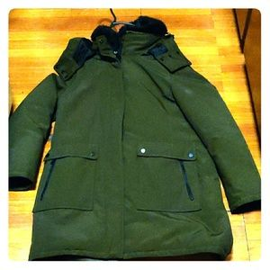 French Canadian connection Aronak coat